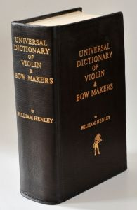 Dictionary of Violin Makers, Henley
