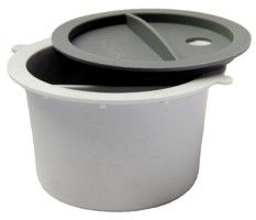 Glue Container w/lid, 2section