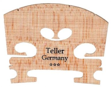 Teller*** Fitted Violin Bridge