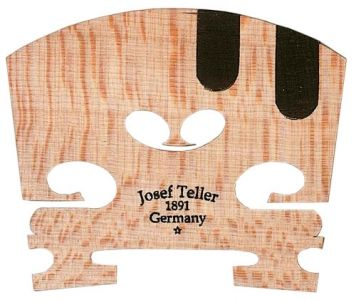 J. Teller** Violin Bridge, Ebony E&A