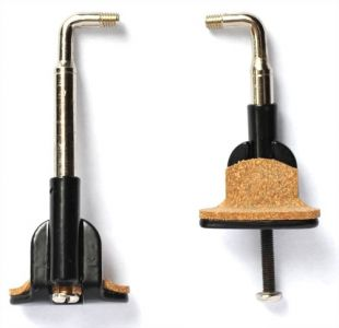 Chinrest Clamps, large foot
