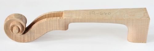 Carved Neck, choice flamed 4/4