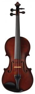 Ackert von Adorf violin, red-brown
